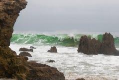 Burzowi morza Zdjęcia Royalty Free
