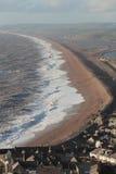 Burzowi morza patrzeje Zachodni Obraz Royalty Free