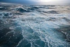 Burzowy morze Zdjęcie Royalty Free