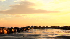 Burzowy morze Obrazy Stock