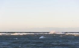 Burzowy morze Zdjęcie Stock