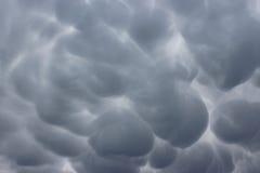 Burzowy niebo nad pas-de-calais Zdjęcia Royalty Free