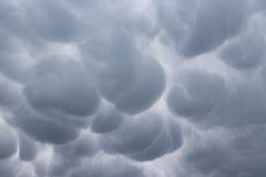 Burzowy niebo nad pas-de-calais Fotografia Stock
