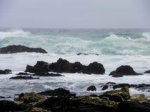 Burzowy ocean indyjski Obrazy Stock