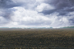 burzowy rolny niebo Fotografia Stock