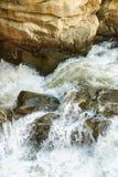 Burzowy strumień halna rzeka Fotografia Stock