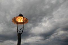 burzowy tła niebo Zdjęcie Stock