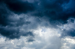 Burzy chmura Fotografia Stock
