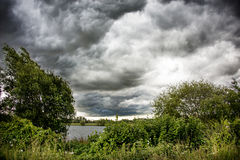 Burzy chmura Zdjęcia Royalty Free
