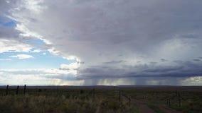Burzy chmura Timelapse w Ameryka zbiory