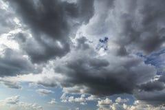 Burzy cloudscape Obraz Stock
