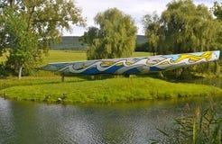 BURZY królewiątka sztuki centrum Zdjęcie Royalty Free