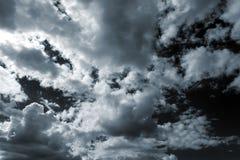Burzy niebo Obrazy Royalty Free