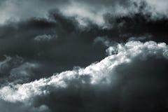 Burzy niebo Obraz Royalty Free