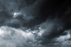 Burzy niebo Zdjęcie Royalty Free