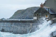 Burzy powódź w Gardenstown Fotografia Royalty Free