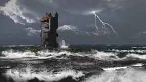 burzy wierza ilustracji