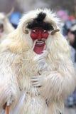 Busó effrayant avec le masque Image libre de droits