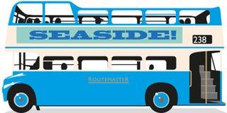 Bus à couvercle serti illustration de vecteur
