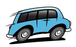 Bus illustration stock
