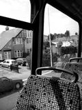 Bus 2. This is the view upstairs on a bus Royalty Free Stock Image