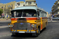 Bus. Typical old bus on the island of malta Royalty Free Stock Image