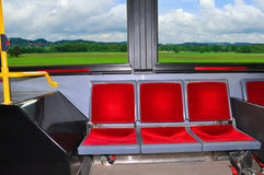 In the bus. Royalty Free Stock Image