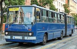 Bus articulé Photos stock