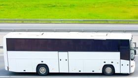 Bus in bianco immagini stock