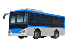 Bus. Big bus with white background Royalty Free Stock Photos