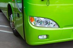 bus billyktan Royaltyfri Foto