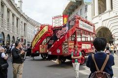 Bus birthday, London Stock Photography