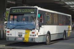 Bus in Brügge Lizenzfreie Stockfotos