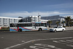 Bus in Cape Town South Africa Stock Photography