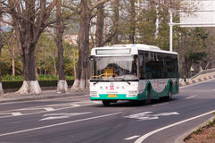 Bus in city, China Stock Images