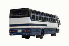Bus is a clipping path Royalty Free Stock Photos