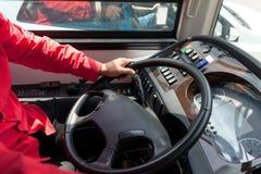 Bus or coach driver royalty free stock photos
