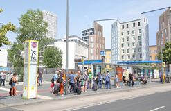 Free Bus Commuters Berlin Germany Stock Photography - 158503332