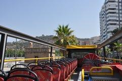 Bus con 2 livelli per fare un giro turistico fotografia stock libera da diritti