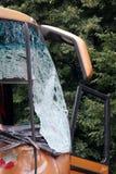 Bus crash Royalty Free Stock Photos