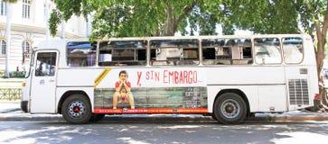 Bus In Cuba Stock Image