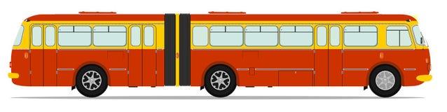 Bus d'annata illustrazione vettoriale