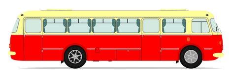 Bus d'annata Immagini Stock
