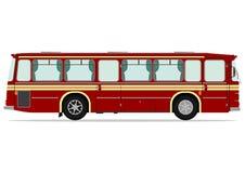 Bus d'annata illustrazione di stock