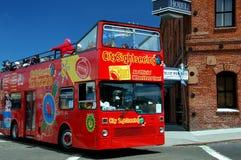 Bus d'excursion de San Francisco Photographie stock libre de droits