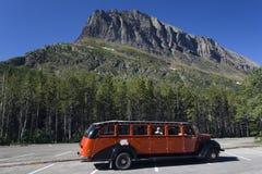 Bus d'excursion du NP de glacier Image libre de droits