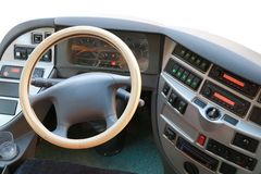 Bus dash board Royalty Free Stock Photography