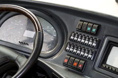 Bus dashboard Stock Photography