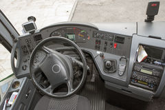 A bus dashboard Stock Photos