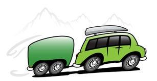 Bus de course Photos libres de droits